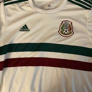 Authentic Mexico World Cup White Jersey